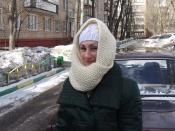 Зимний хиджаб для русских баб