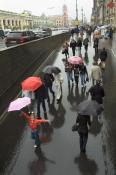 Зонтики на Невском