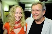 Писатель Виктор Ерофеев с женой. Киев