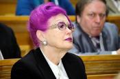 Преподавательница Киевского Национального Университета. Интересно, что она преподаёт ))